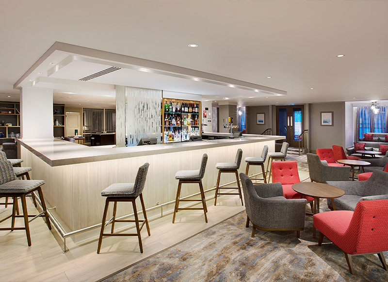 Flooring Solutions NI Hotel Bar Fit Out